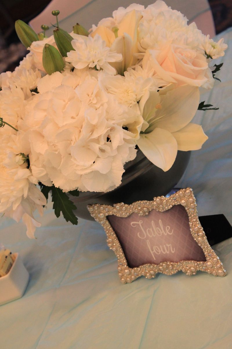 Table Centre - Close Up